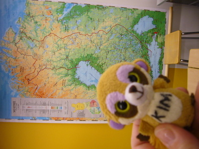Sweetie and a map.jpg